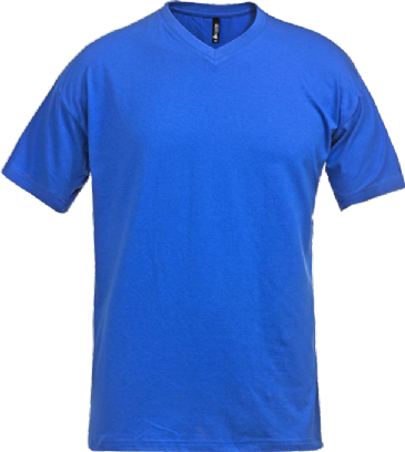 Fristads Acode V-Neck T-Shirt 1913 BSJ (Royal Blue)